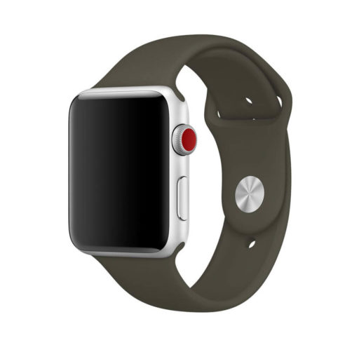 Dark Olive Band for Apple Watch Sport Band 38mm 42mm Mens and Womens